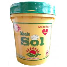 Aceite Montesol de 18 Litros en balde