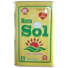 Aceite Montesol de 18 Litros en lata